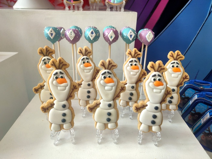 Olaf Cookies from a Frozen 2 Birthday Party on Kara's Party Ideas | KarasPartyIdeas.com (23)