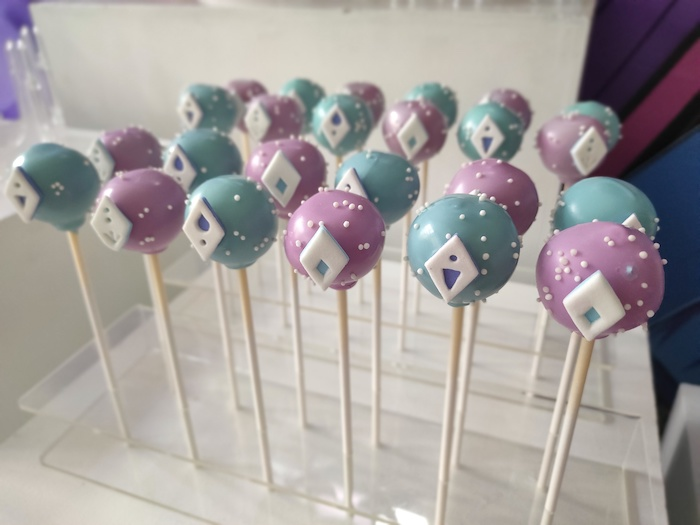 Frozen 2-inspired Cake Pops from a Frozen 2 Birthday Party on Kara's Party Ideas | KarasPartyIdeas.com (22)