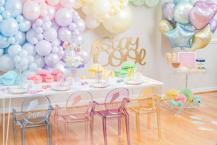 Pastel Ice Cream Party on Kara's Party Ideas | KarasPartyIdeas.com (33)