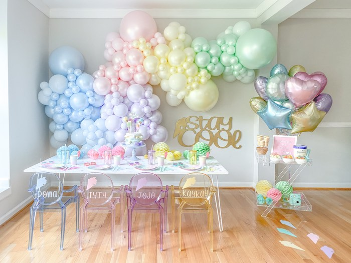 Pastel Ice Cream Party on Kara's Party Ideas | KarasPartyIdeas.com (15)