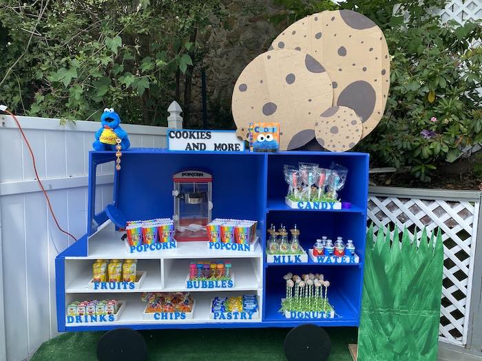 Cookies & More from a Sesame Street Birthday Party on Kara's Party Ideas | KarasPartyIdeas.com (20)