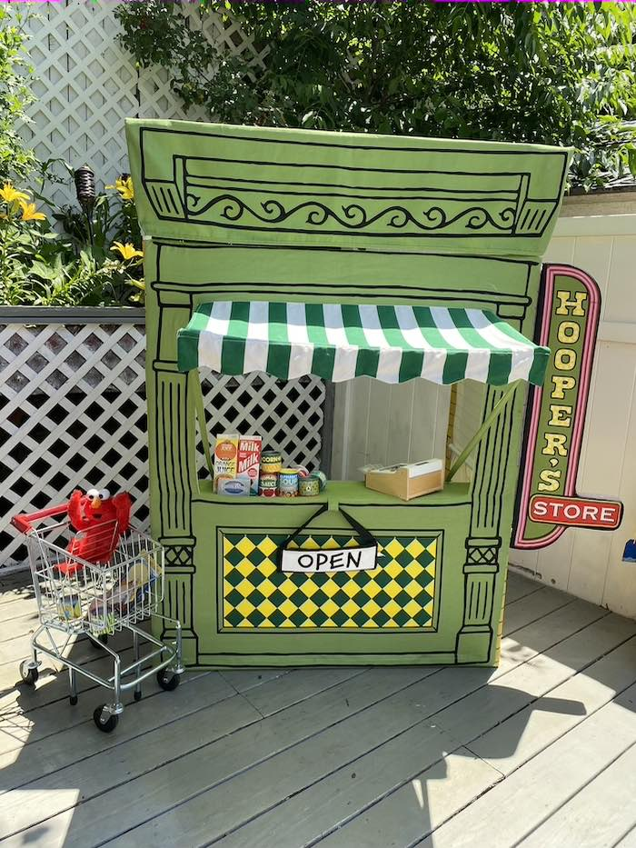 Hooper's Store from a Sesame Street Birthday Party on Kara's Party Ideas | KarasPartyIdeas.com (31)