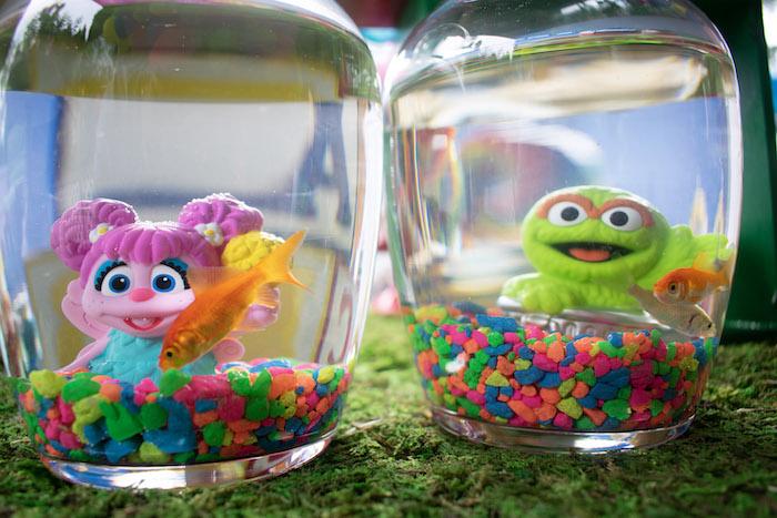 Goldfish Favors from a Sesame Street Birthday Party on Kara's Party Ideas | KarasPartyIdeas.com (10)