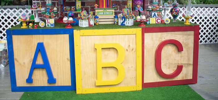 Sesame Street Birthday Party on Kara's Party Ideas | KarasPartyIdeas.com (2)
