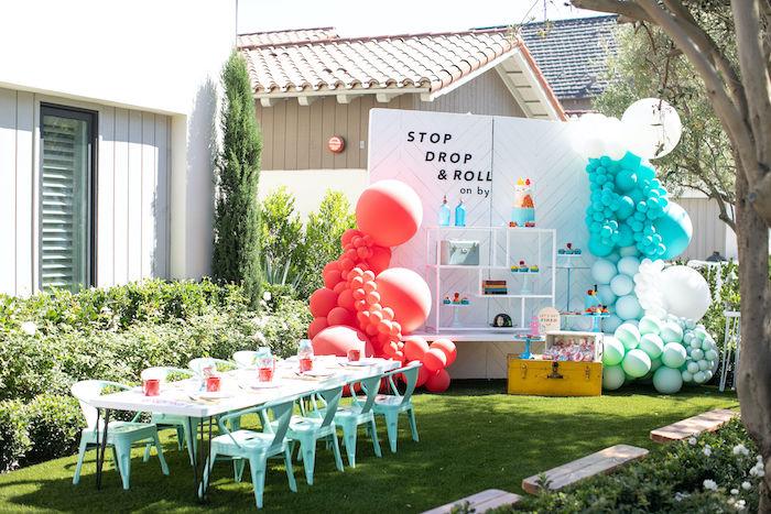 Sound the Alarm Firetruck 1st Birthday on Kara's Party Ideas | KarasPartyIdeas.com (13)