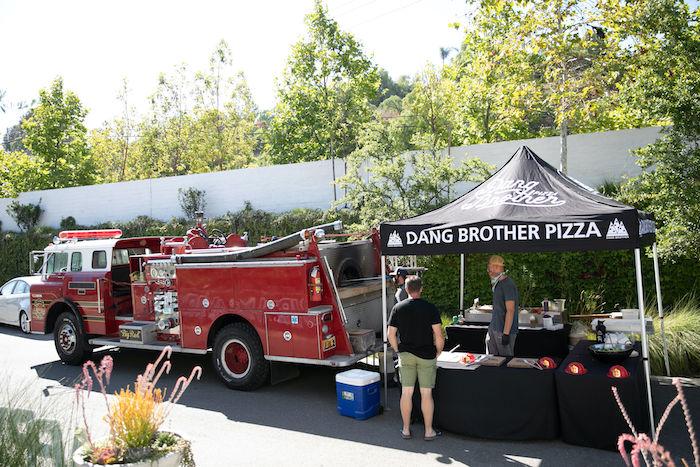 Sound the Alarm Firetruck 1st Birthday on Kara's Party Ideas | KarasPartyIdeas.com (10)