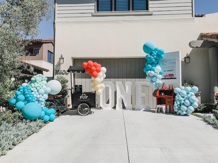 Sound the Alarm Firetruck 1st Birthday on Kara's Party Ideas | KarasPartyIdeas.com (27)
