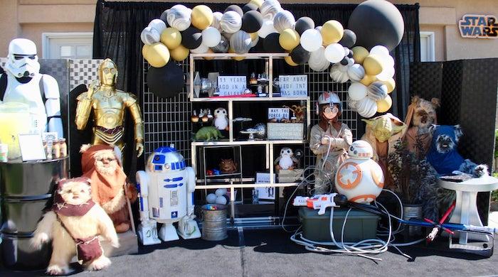 Star Wars Quarantine Drive-By Birthday Party on Kara's Party Ideas | KarasPartyIdeas.com (5)