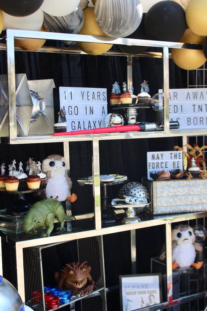 Star Wars Dessert Spread from a Star Wars Quarantine Drive-By Birthday Party on Kara's Party Ideas | KarasPartyIdeas.com (25)