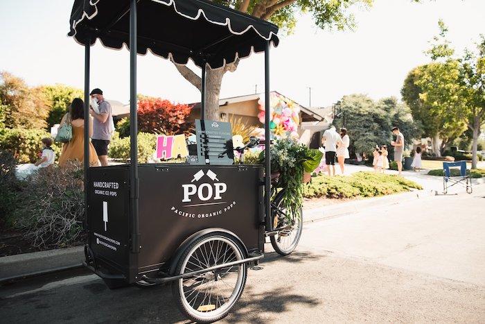 Popsicle Cart from a Summer Birthday Jam on Kara's Party Ideas | KarasPartyIdeas.com (8)