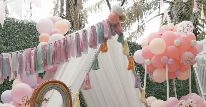 Vintage Boho Picnic Party on Kara's Party Ideas | KarasPartyIdeas.com (2)