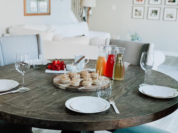 "Breakfast Table from a ""Dream Big"" Sleepover Birthday Party on Kara's Party Ideas | KarasPartyIdeas.com (5)"