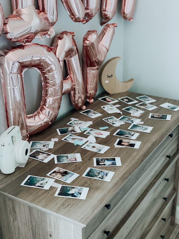"Instax Camera + Photos from a ""Dream Big"" Sleepover Birthday Party on Kara's Party Ideas | KarasPartyIdeas.com (4)"
