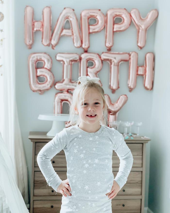 "Little Dreamer from a ""Dream Big"" Sleepover Birthday Party on Kara's Party Ideas | KarasPartyIdeas.com (16)"