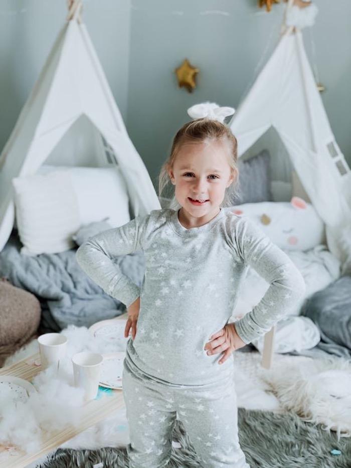 "Little Dreamer from a ""Dream Big"" Sleepover Birthday Party on Kara's Party Ideas | KarasPartyIdeas.com (13)"