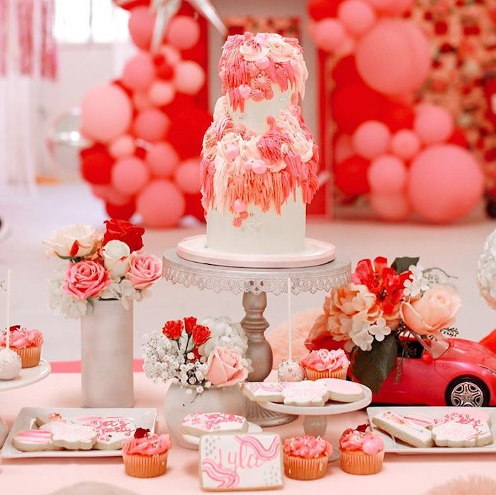 Barbie Themed Dessert Table from a Barbie Ranch Vacation Birthday Party on Kara's Party Ideas | KarasPartyIdeas.com (16)