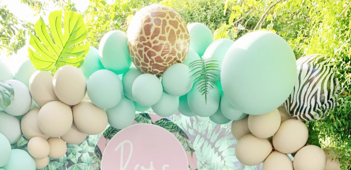 Beverly Hills Jungle Birthday Party on Kara's Party Ideas | KarasPartyIdeas.com (1)