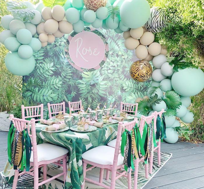 Beverly Hills Jungle Birthday Party on Kara's Party Ideas | KarasPartyIdeas.com (12)
