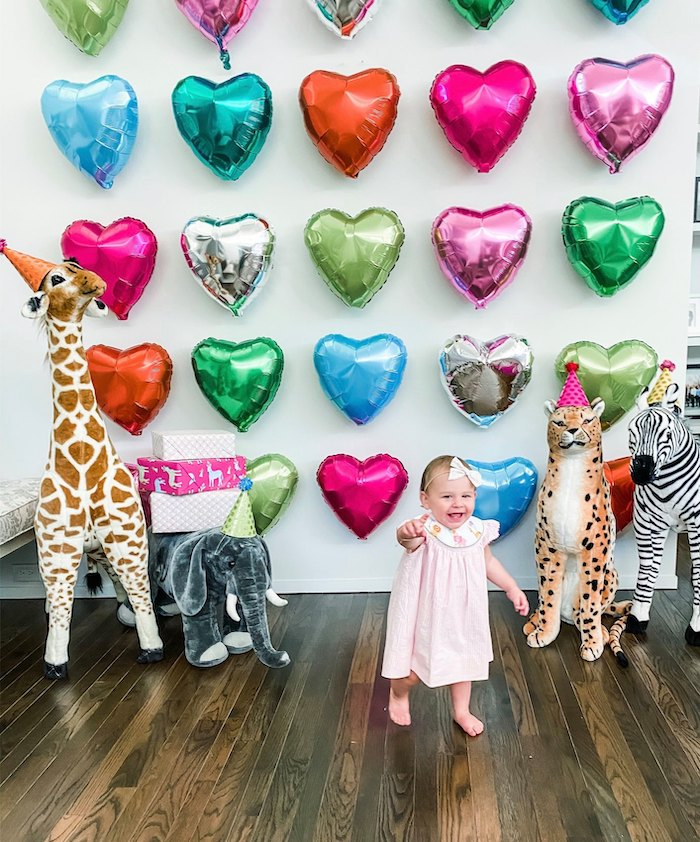 Calling All Party Animals First Birthday Party on Kara's Party Ideas | KarasPartyIdeas.com (33)