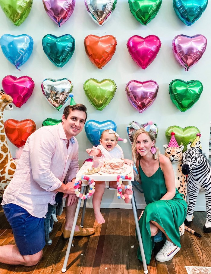 Calling All Party Animals First Birthday Party on Kara's Party Ideas | KarasPartyIdeas.com (31)