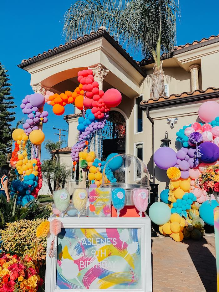 Colorful Drive-By Birthday Parade on Kara's Party Ideas | KarasPartyIdeas.com (8)