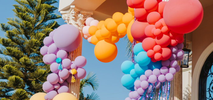 Colorful Drive-By Birthday Parade on Kara's Party Ideas | KarasPartyIdeas.com (2)