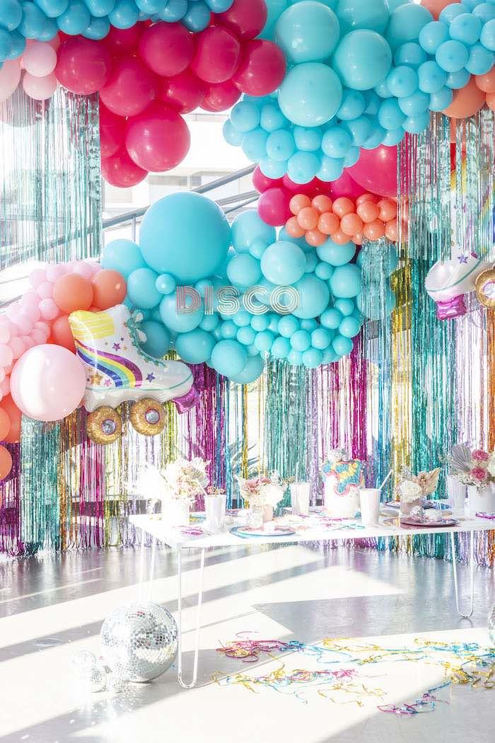 Disco Vibes Party on Kara's Party Ideas | KarasPartyIdeas.com (9)