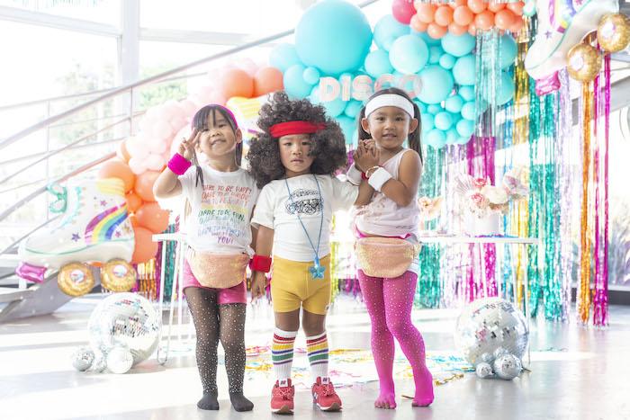 Disco Vibes Party on Kara's Party Ideas | KarasPartyIdeas.com (8)