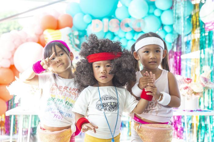 Disco Vibes Party on Kara's Party Ideas | KarasPartyIdeas.com (7)