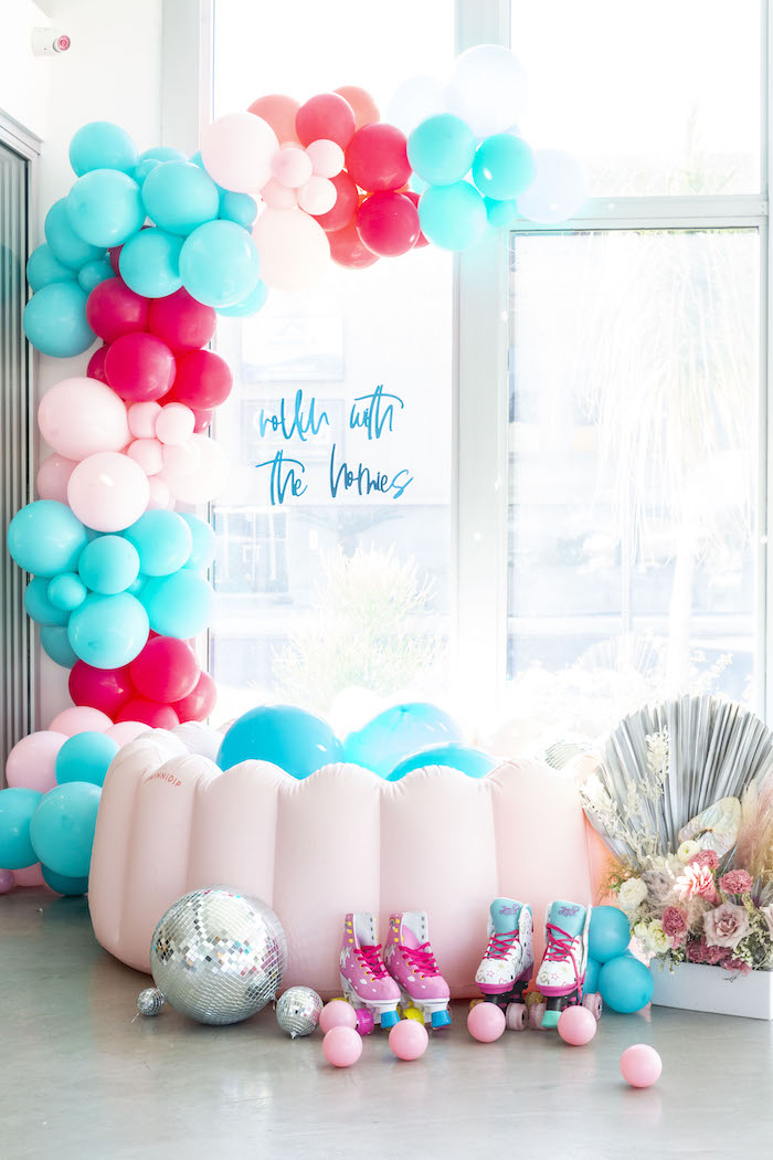 Ball Pit from a Disco Vibes Party on Kara's Party Ideas | KarasPartyIdeas.com (3)