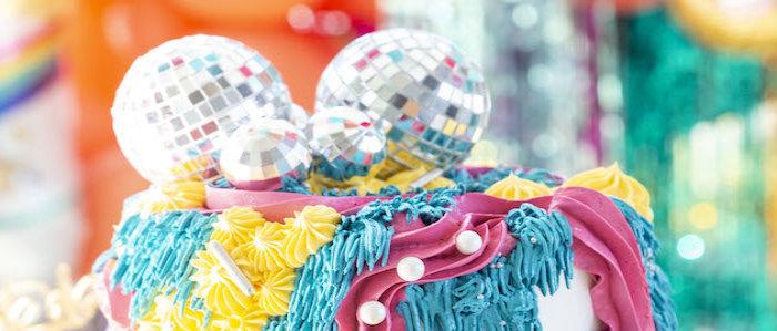 Disco Vibes Party on Kara's Party Ideas | KarasPartyIdeas.com (1)
