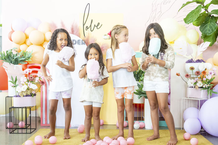 """Floral """"Quarantine TLC"""" Moms' Day Out Party on Kara's Party Ideas   KarasPartyIdeas.com (12)"""
