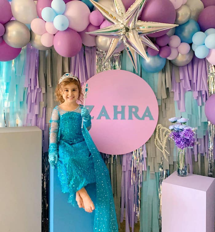 Four the First Time in Four-ever Frozen 4th Birthday Party on Kara's Party Ideas | KarasPartyIdeas.com (3)