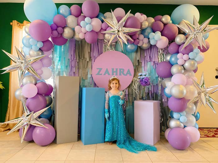 Four the First Time in Four-ever Frozen 4th Birthday Party on Kara's Party Ideas | KarasPartyIdeas.com (11)