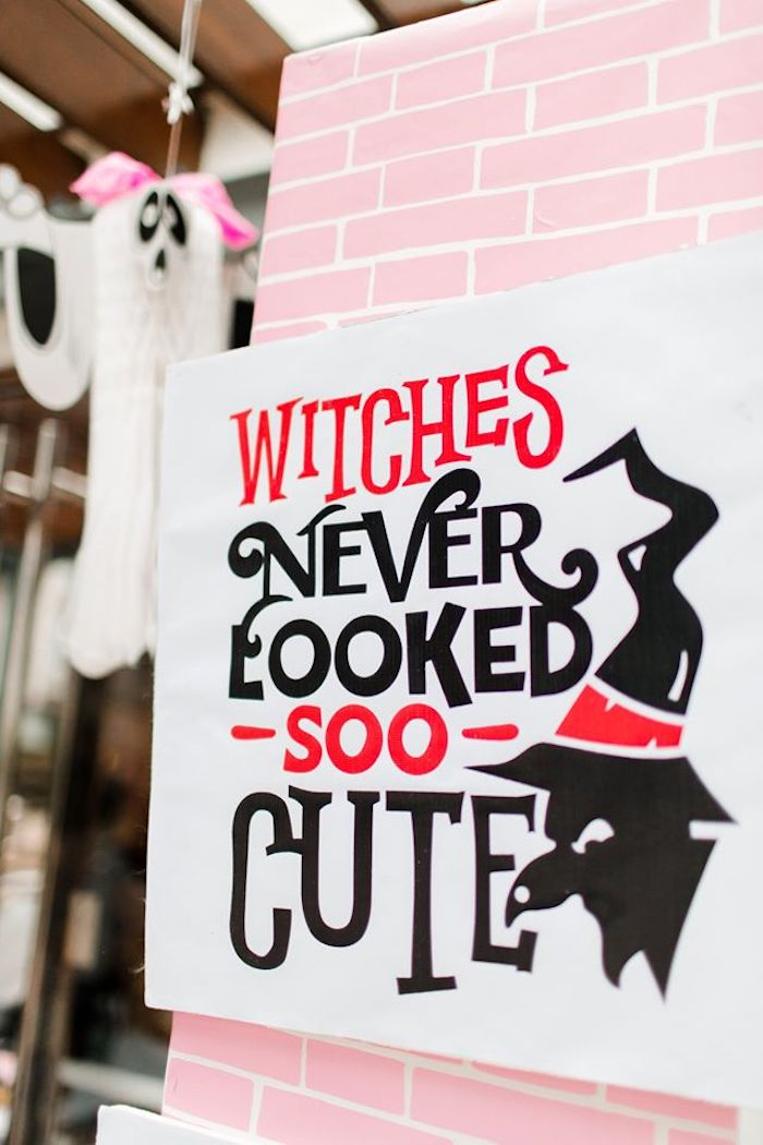 Witch Print from a Hocus Pocus Halloween Birthday Party on Kara's Party Ideas | KarasPartyIdeas.com (22)