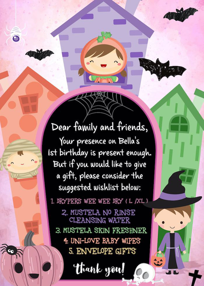 Halloween-printed Gift Suggestion from a Hocus Pocus Halloween Birthday Party on Kara's Party Ideas | KarasPartyIdeas.com (8)