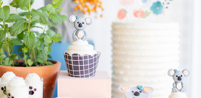 Koala Birthday Party on Kara's Party Ideas | KarasPartyIdeas.com (4)