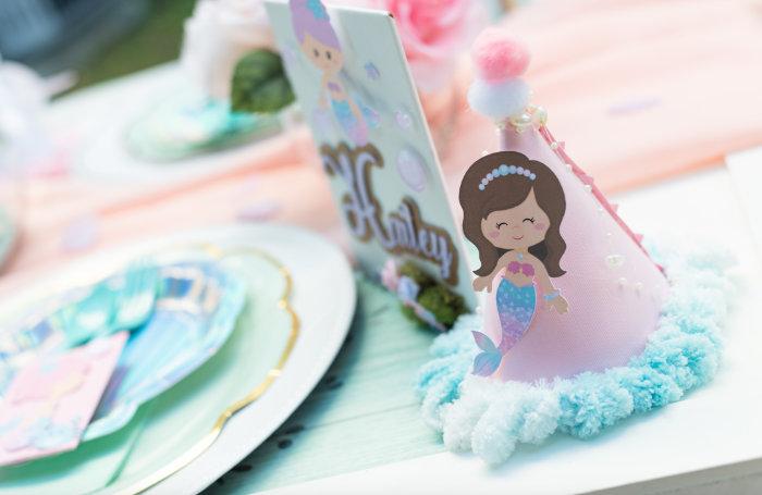 Mermaid Picnic Party on Kara's Party Ideas | KarasPartyIdeas.com (31)
