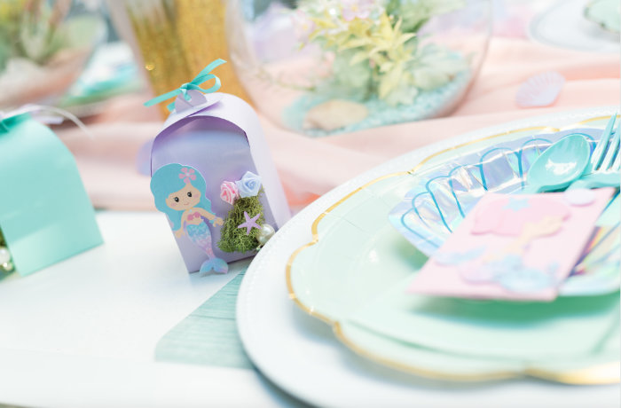 Mermaid Picnic Party on Kara's Party Ideas | KarasPartyIdeas.com (30)