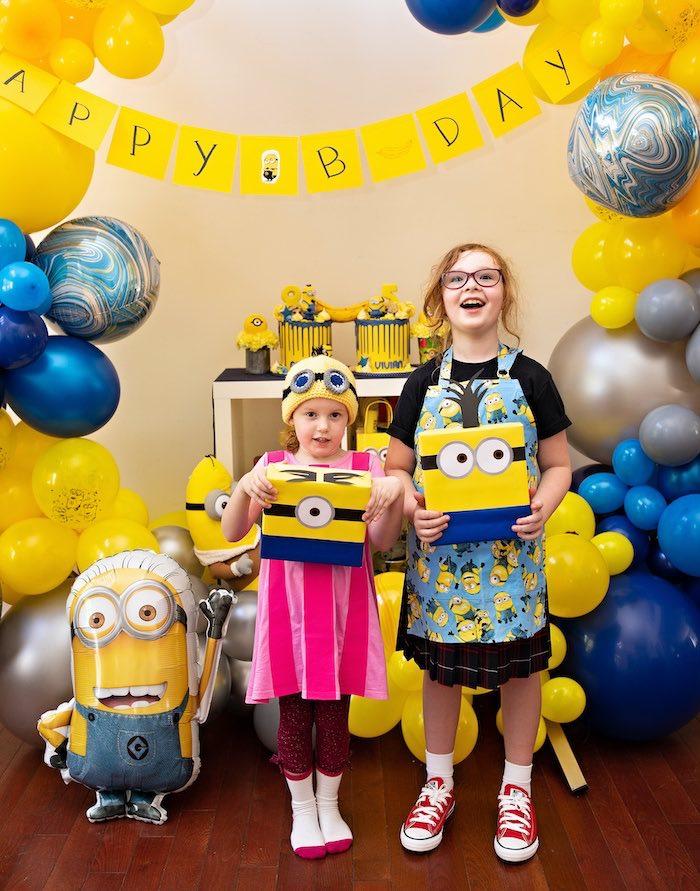 Minions Pandemic-Safe Birthday Party on Kara's Party Ideas | KarasPartyIdeas.com (5)