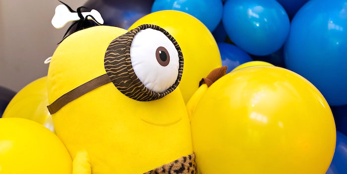 Minions Pandemic-Safe Birthday Party
