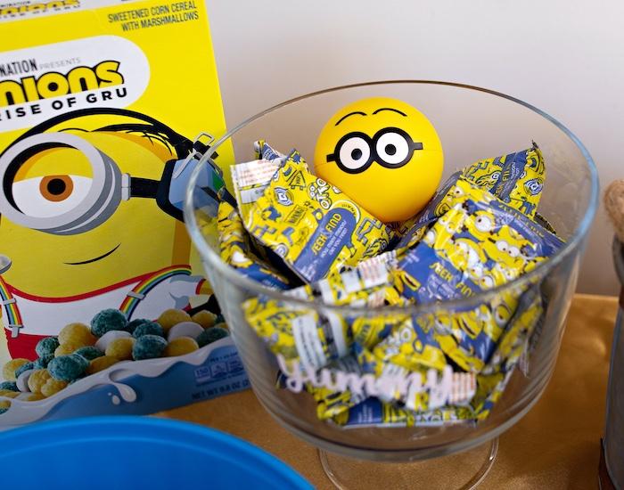 Minion Fruit Snacks from a Minions Pandemic-Safe Birthday Party on Kara's Party Ideas | KarasPartyIdeas.com (30)