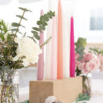 Modern Floral Mermaid Birthday Party on Kara's Party Ideas | KarasPartyIdeas.com