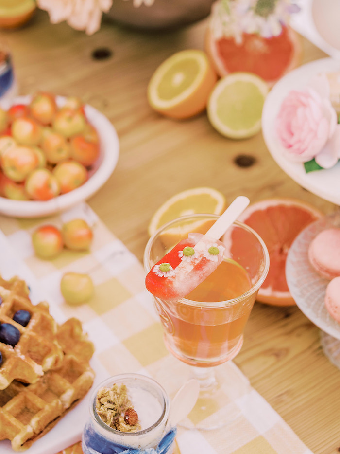 Citrus-inspired Drink from a Mommy & Me Citrus Brunch on Kara's Party Ideas | KarasPartyIdeas.com (27)