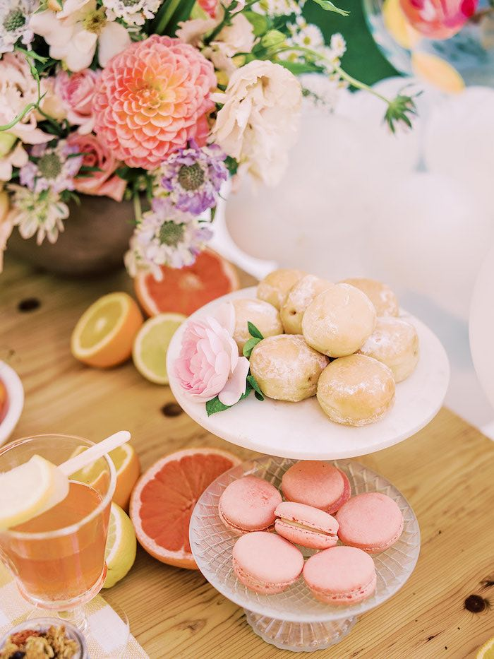 Desserts from a Mommy & Me Citrus Brunch on Kara's Party Ideas | KarasPartyIdeas.com (22)