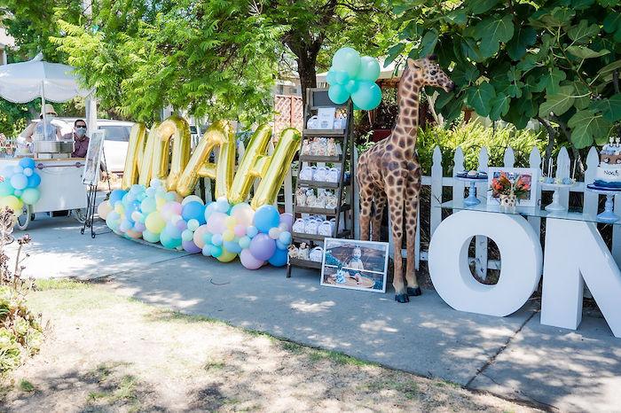 Noah's Ark Birthday Drive-by Parade on Kara's Party Ideas | KarasPartyIdeas.com (9)