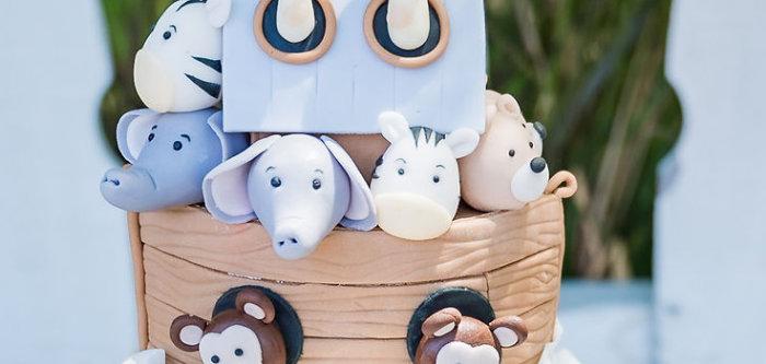 Noah's Ark Birthday Drive-by Parade on Kara's Party Ideas | KarasPartyIdeas.com (1)