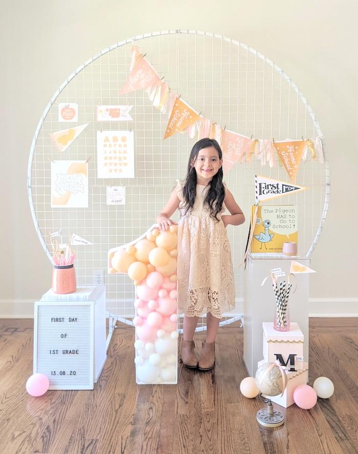 Pastel Back to School Party on Kara's Party Ideas | KarasPartyIdeas.com (8)