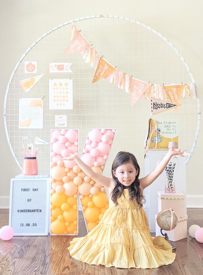 Pastel Back to School Party on Kara's Party Ideas | KarasPartyIdeas.com (7)