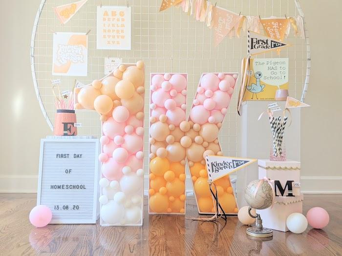 Pastel Back to School Party on Kara's Party Ideas | KarasPartyIdeas.com (20)